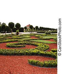 Garden palace in Rundale