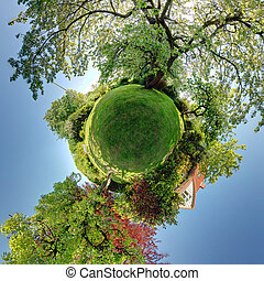 garden park panoramic home