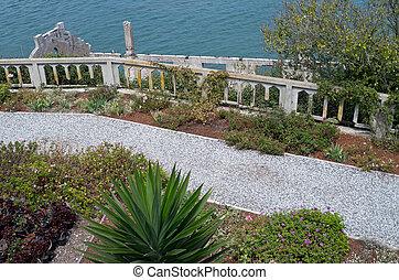 Garden Path and Balustrade