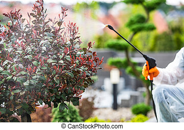 Garden Plants Fungicide and Insecticide