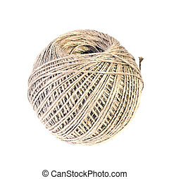 Garden Rope Isolated on White Background