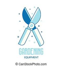 Garden Secateurs Icon