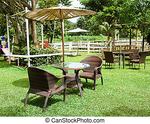 garden., sedia