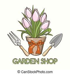 Garden Shop Emblem