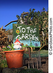 Garden Sign 2