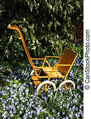 garden toy pram