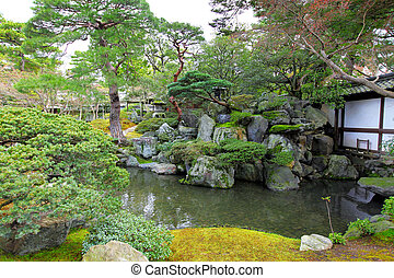 Garden with japanese style