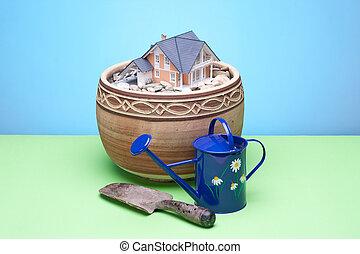 Gardener still-life