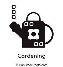 Gardening icon isolated on white background