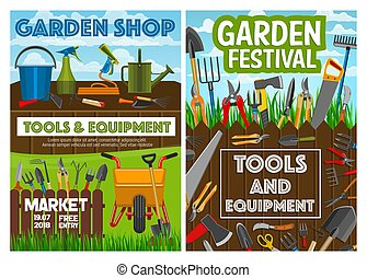 Gardening tools, agriculture farming equipment - Gardening...