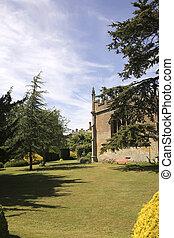 Gardens at Sudeley castle