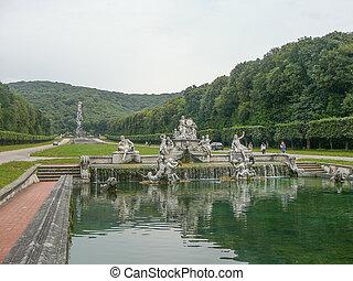 Gardens in Caserta