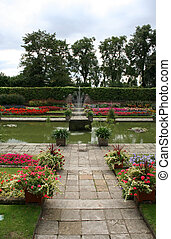 Gardens of Kensington palace, London