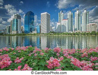 Gardent in bangkok city