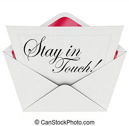 garder, communication, updated, séjour, lettre, toucher