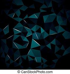 garder, cristal, couleur, résumé, même, boîte, fond, vous, ...