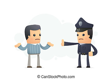 gardes, territoire, policier