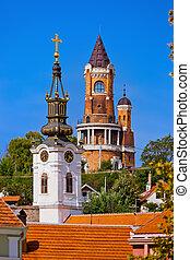 Gardos Tower in Zemun - Belgrade Serbia - architecture...
