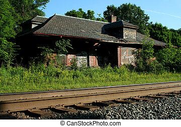 gare, abandonnés