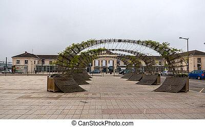 Gare de Chalon-sur-Saone - Burgundy, France
