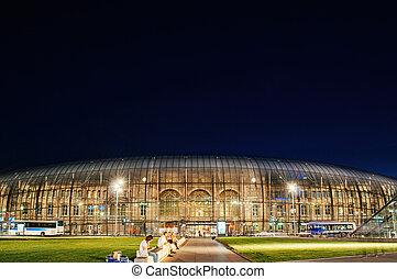 Gare de Strasbourg- Strasbourg- Train -Station - Large view...