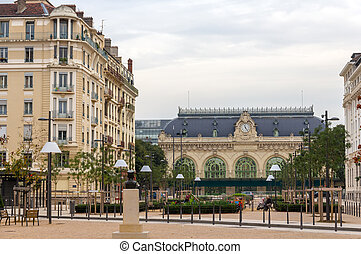 Gare des Brotteaux, old railway station in Lyon
