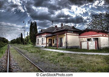 gare, vieux
