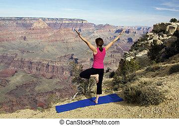 garganta grande, ioga