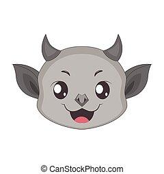 Gargoyle portrait for multiple uses, avatar, icon, other