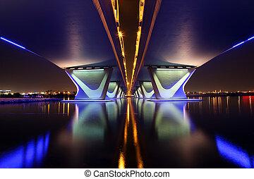 garhoud, dubai , al , γέφυρα