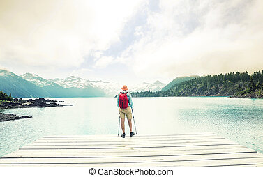 Garibaldi lake - Hike to turquoise waters of picturesque ...