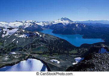 Garibaldi Lake horizontal