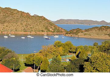 Gariep dam harbor