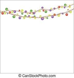 Garland  color lights
