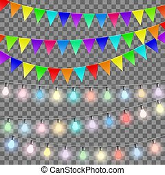 Set of decorations