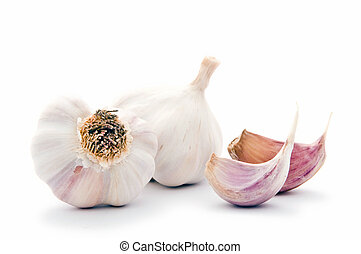 Garlic bulbs - Allium sp. Garlic is widely used for its ...