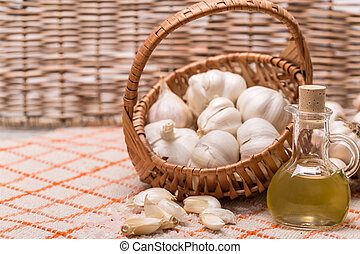 Garlic composition