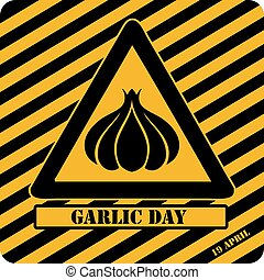 Garlic Day industrial symbol