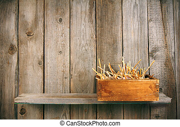 Garlic in a box