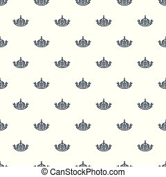 Garlic pattern vector seamless repeat for any web design