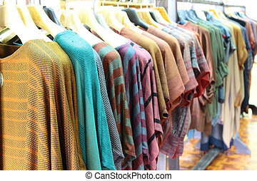 Garment from handiwork industry that be family industry