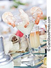 garnele, cocktail