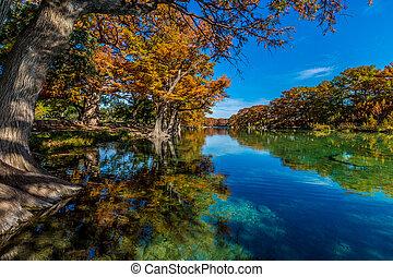 Garner State Park, Texas - Beautiful Fall Foliage ...