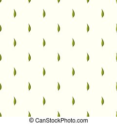 Garnet leaf pattern seamless in flat style for any design