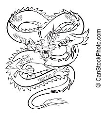 garra, dragón