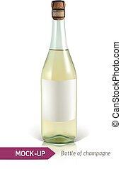 garrafa champanha