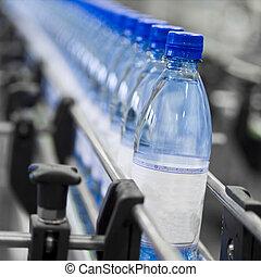 garrafa, indústria