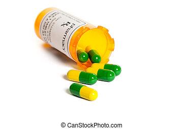 garrafa pílula