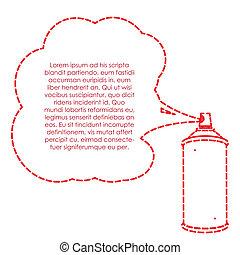 garrafa spray