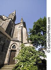 Garrison church side